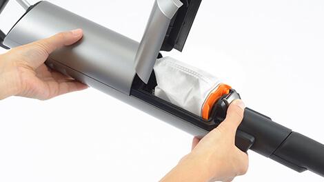 紙パック式掃除機のデメリット