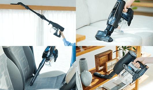Sharkのコードレススティック掃除機を5つの選び方で比較 5. アタッチメント