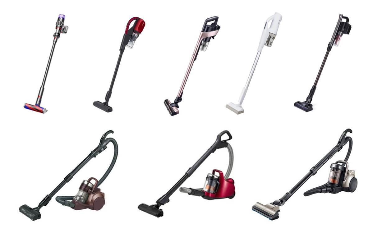 [最新] サイクロン式掃除機 おすすめ9機種を一覧表で比較!フィルターレスや吸引力など選び方も解説