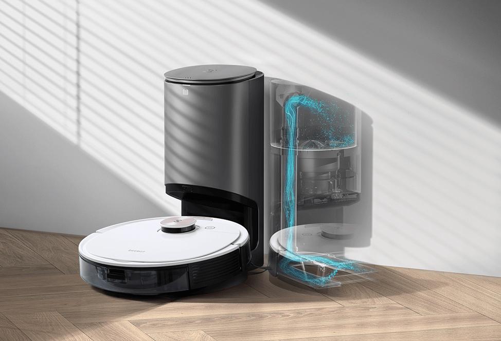 エコバックス DEEBOTロボット掃除機の選び方 「自動ゴミ捨て機能」つきのモデル