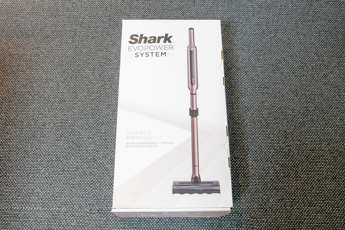 Shark「EVOPOWER SYSTEM CS501J」外箱写真
