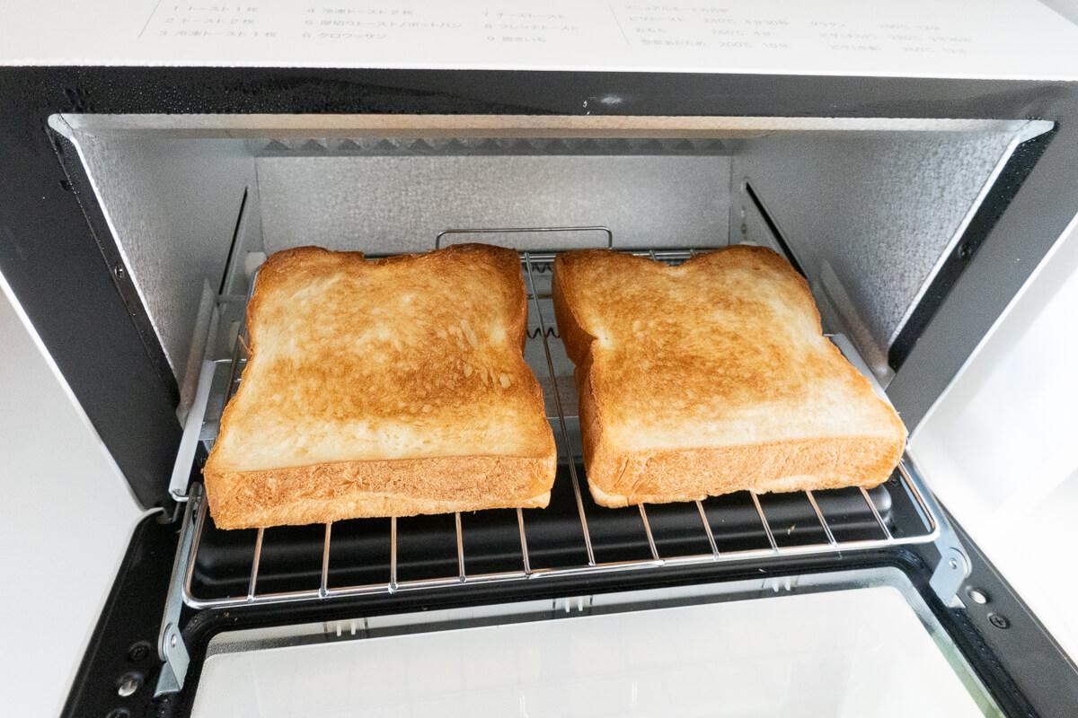 シロカのすばやきトースターST-2D351 を使ってみた まずはトーストの焼き具合を検証