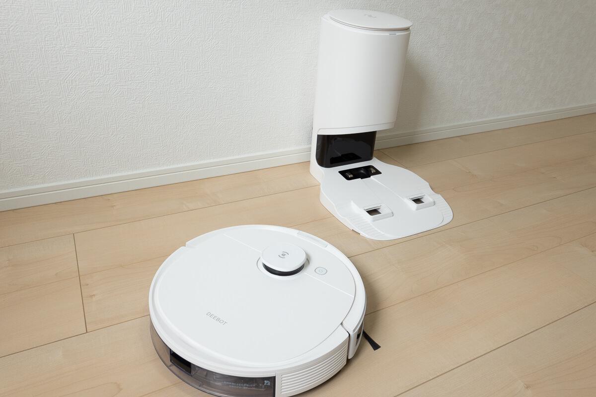 ECOVACS DEEBOT N8+ 使用レビュー!自動ゴミ捨て,マッピング,水拭き…機能全部盛りのロボット掃除機