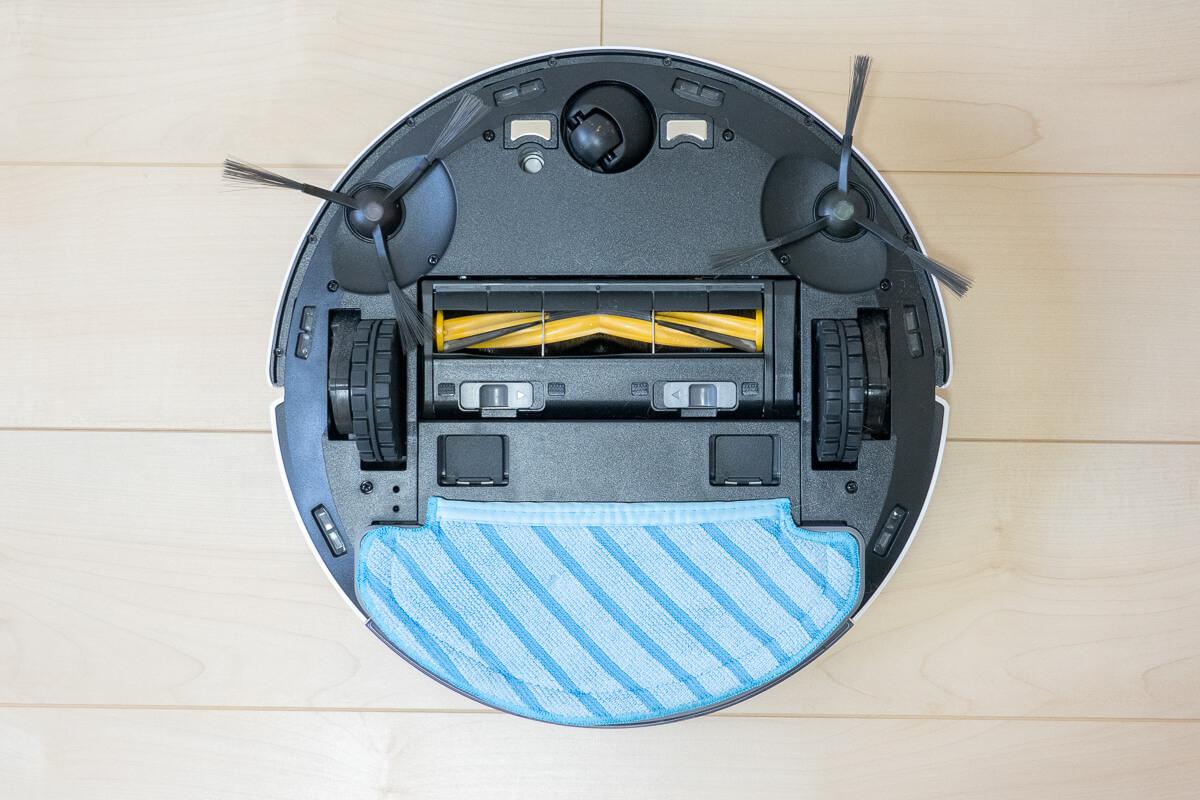 エコバックス「DEEBOT N8+」の特長 吸引+水拭きの同時清掃が可能