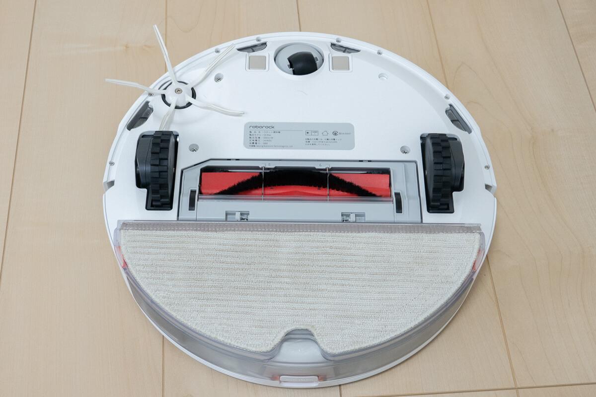 Roborock S5 Maxの特長 吸引と水拭き同時清掃