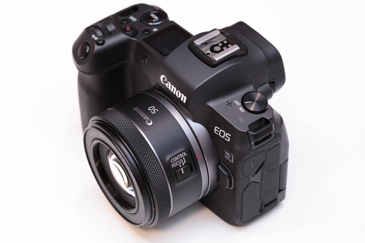 RF50mm F1.8 STM レビュー