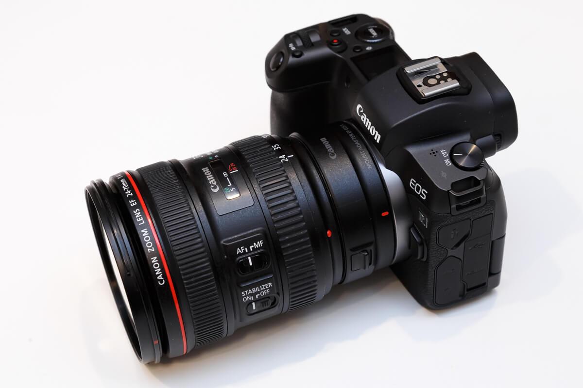 EF24-70mm F4L IS USM レビュー