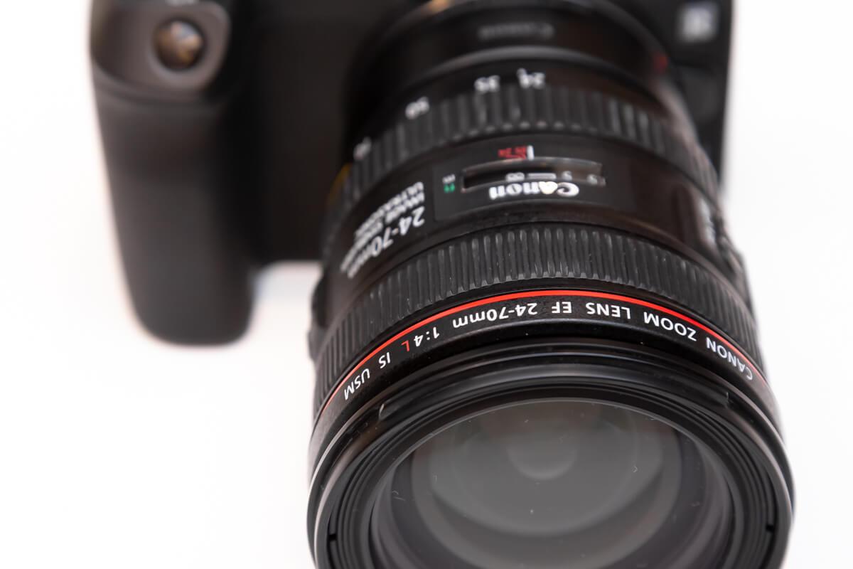 EF24-70mm F4L IS USM デザイン
