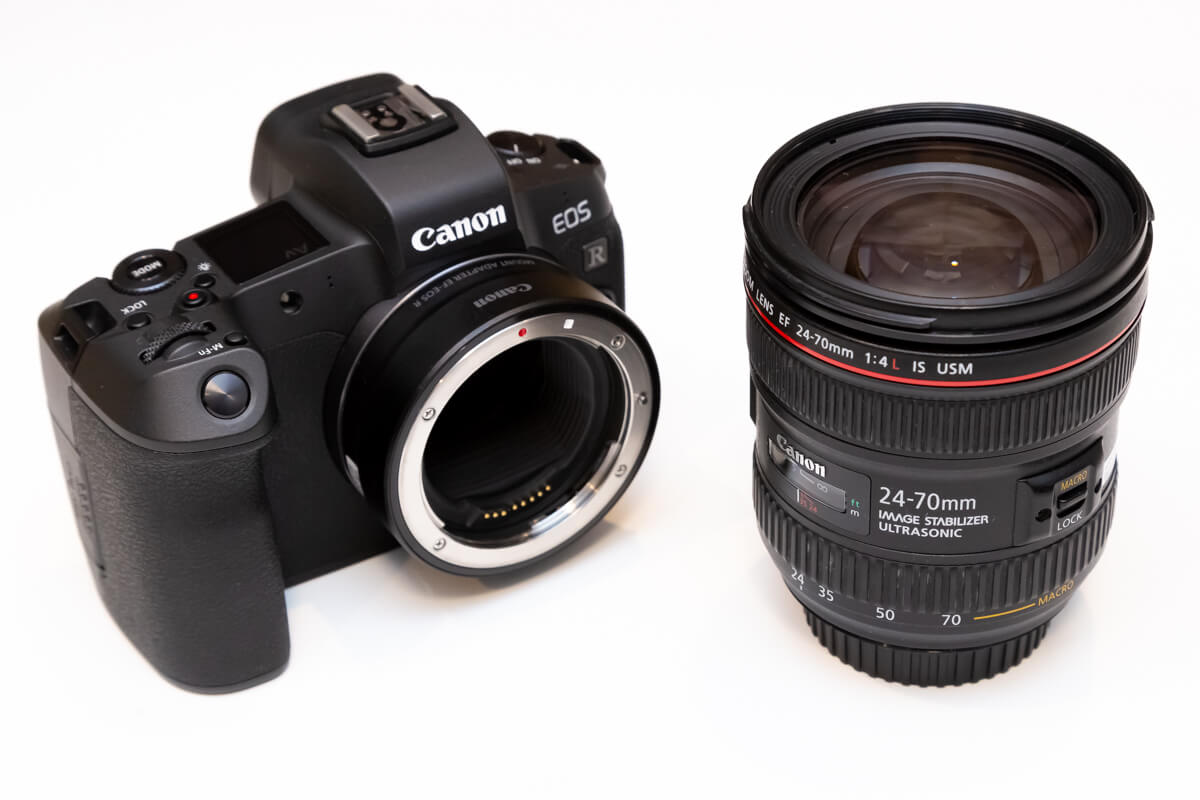 EF24-70mm F4L IS USM 携帯性