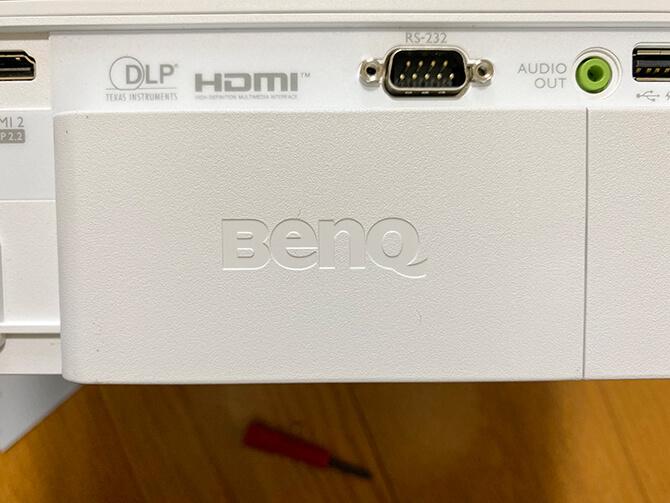 BenQ TK700STiのAndroid TV ワイヤレスドングルのセットアップ