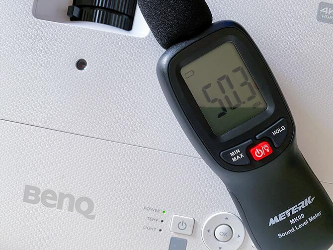 BenQ TK700STiの動作音と音質