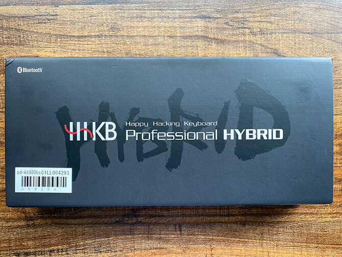 HHKB Professional HYBRID Type-Sの実機レビュー