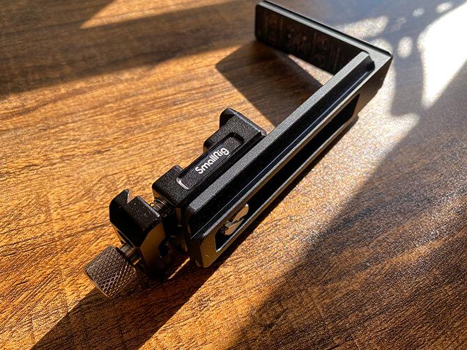 MOZA Mini-PのLブラケットの工夫