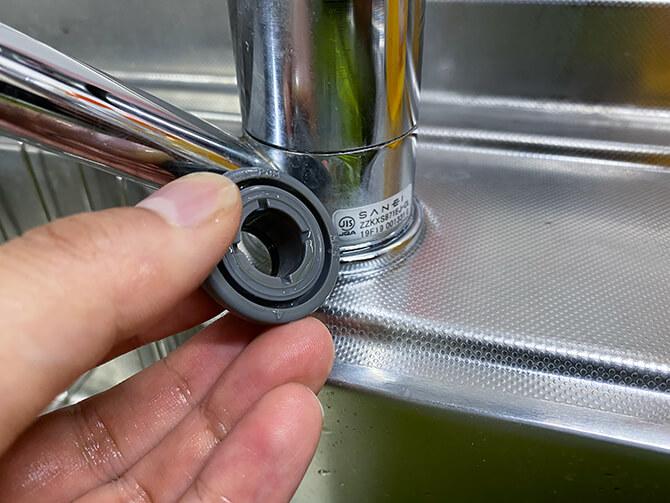 パナソニックのアルカリイオン整水器 TK-AS47の設定方法