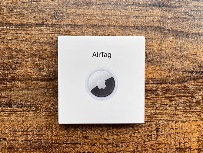 AirTagの実機レビュー