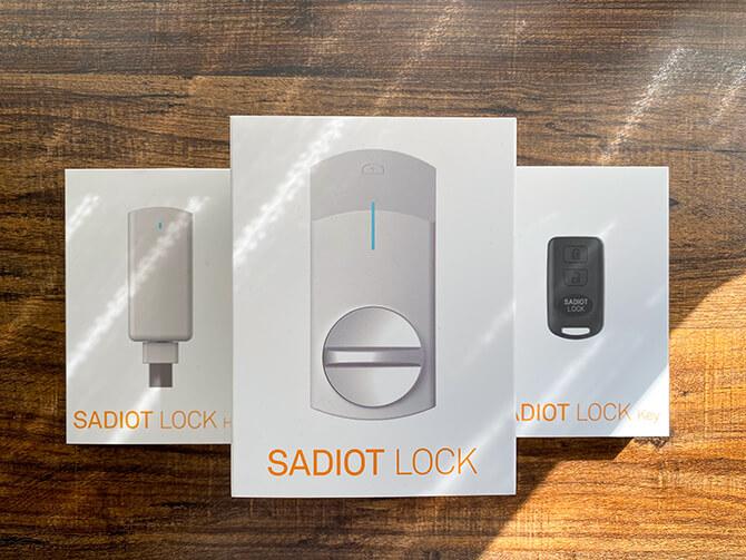 SADIOT LOCK Keyの取り付け方法