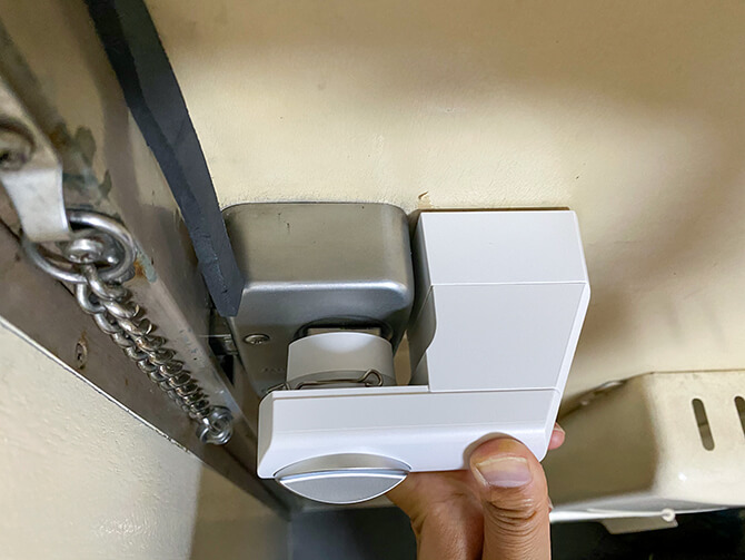 SADIOT LOCKの取り付け方法