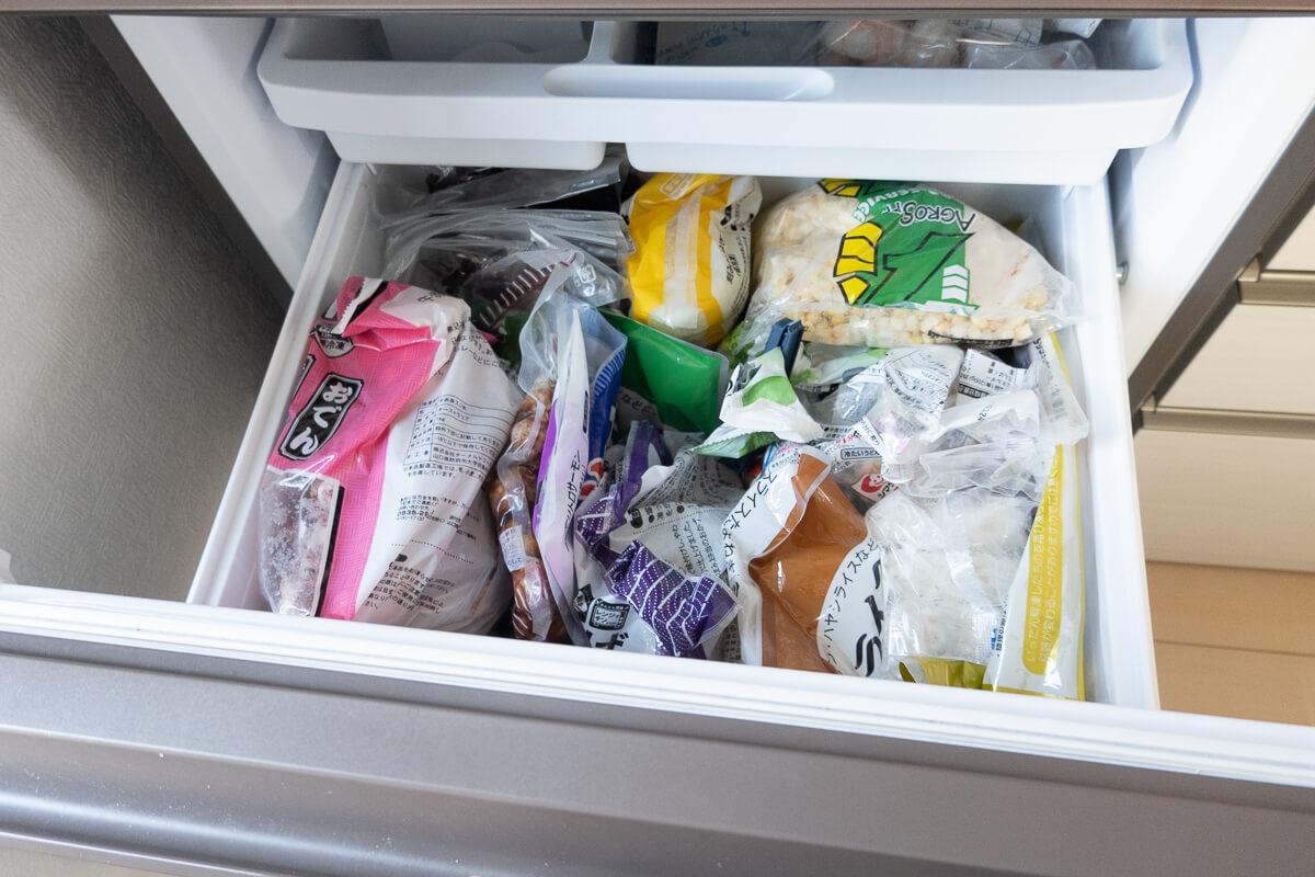【気になるポイント 2】冷凍庫に空きスペースが無い場合は?
