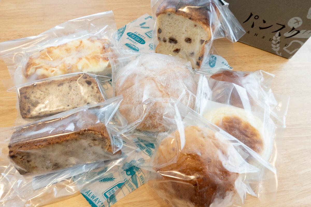パンのお取り寄せ定期便「パンスク」をお試し体験してみた。上手な解凍方法&冷凍庫スペース問題は?