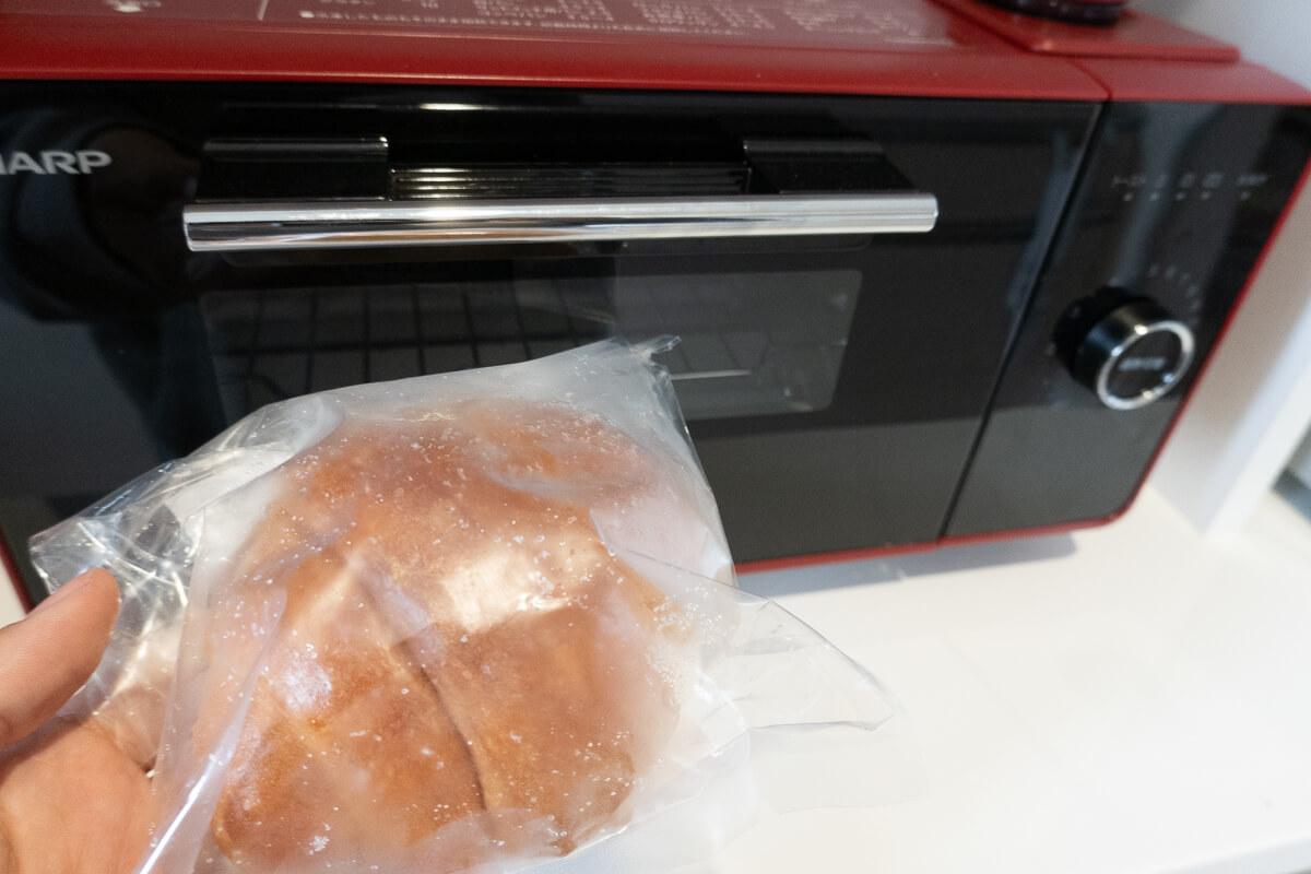 【気になるポイント 1】冷凍パンの美味しい解凍方法・焼き方