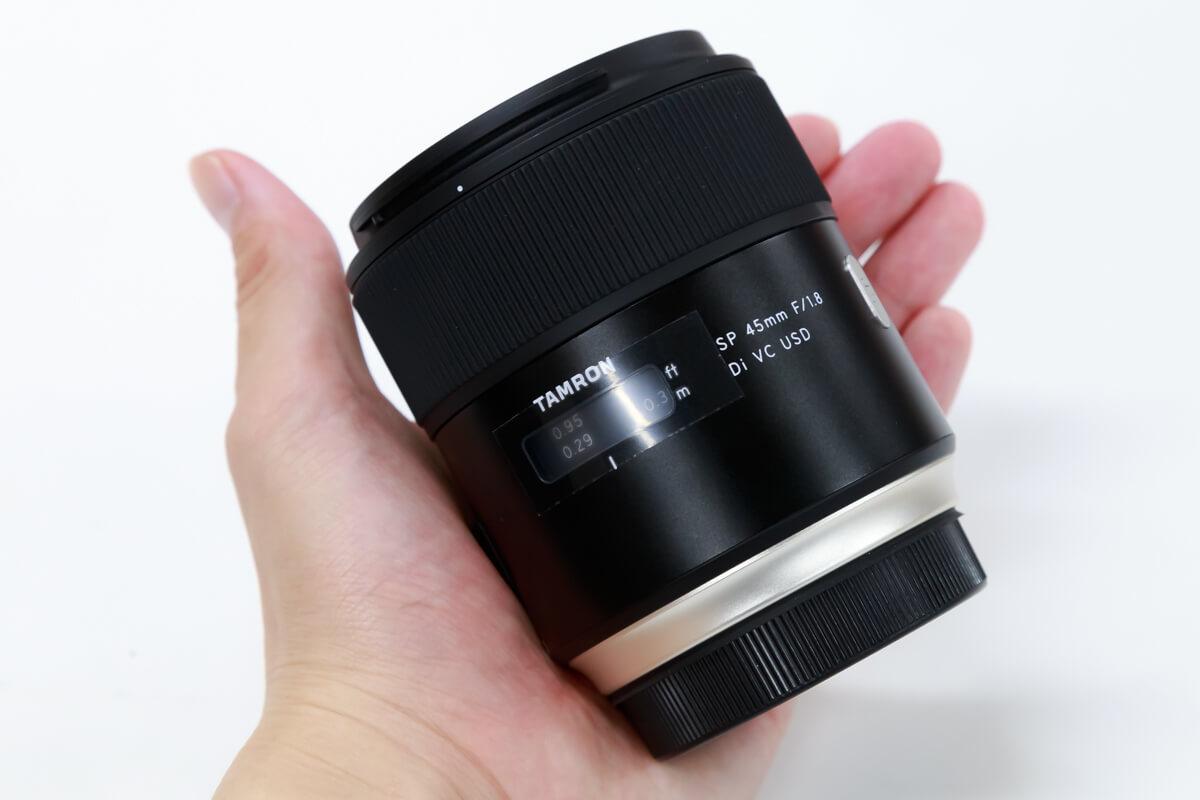 TAMRON SP 45mm F/1.8 Di VC USD 携帯性
