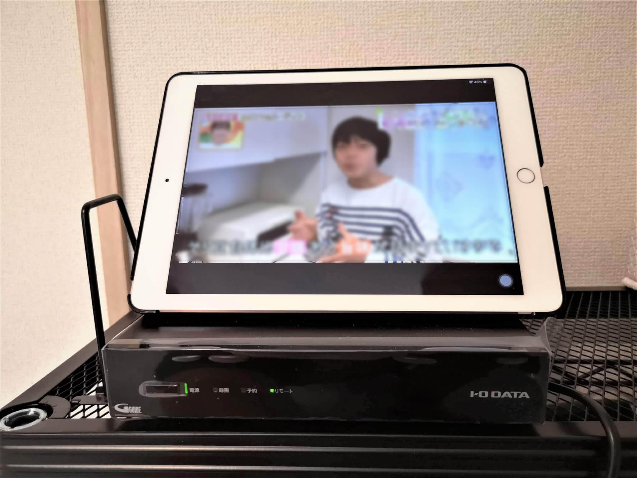I-O DATA「GV-NTX1A テレビチューナー」使用レビュー!スマホやタブレットでテレビ視聴を試してみた