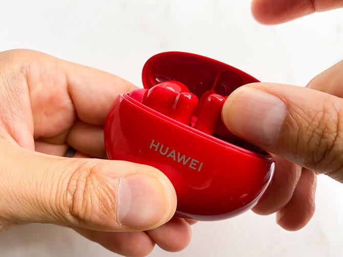 HUAWEI FreeBuds 4iは充電ケースから取り出しにくい