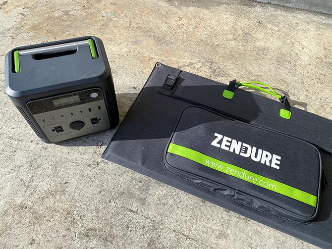 ZENDURE 100Wポータブルソーラーパネルの特長