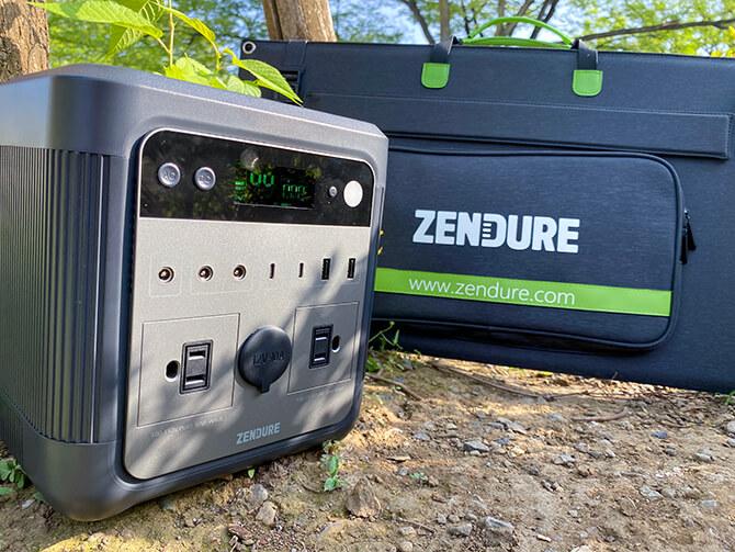 ZENDURE 100Wポータブルソーラーパネルの実機レビュー