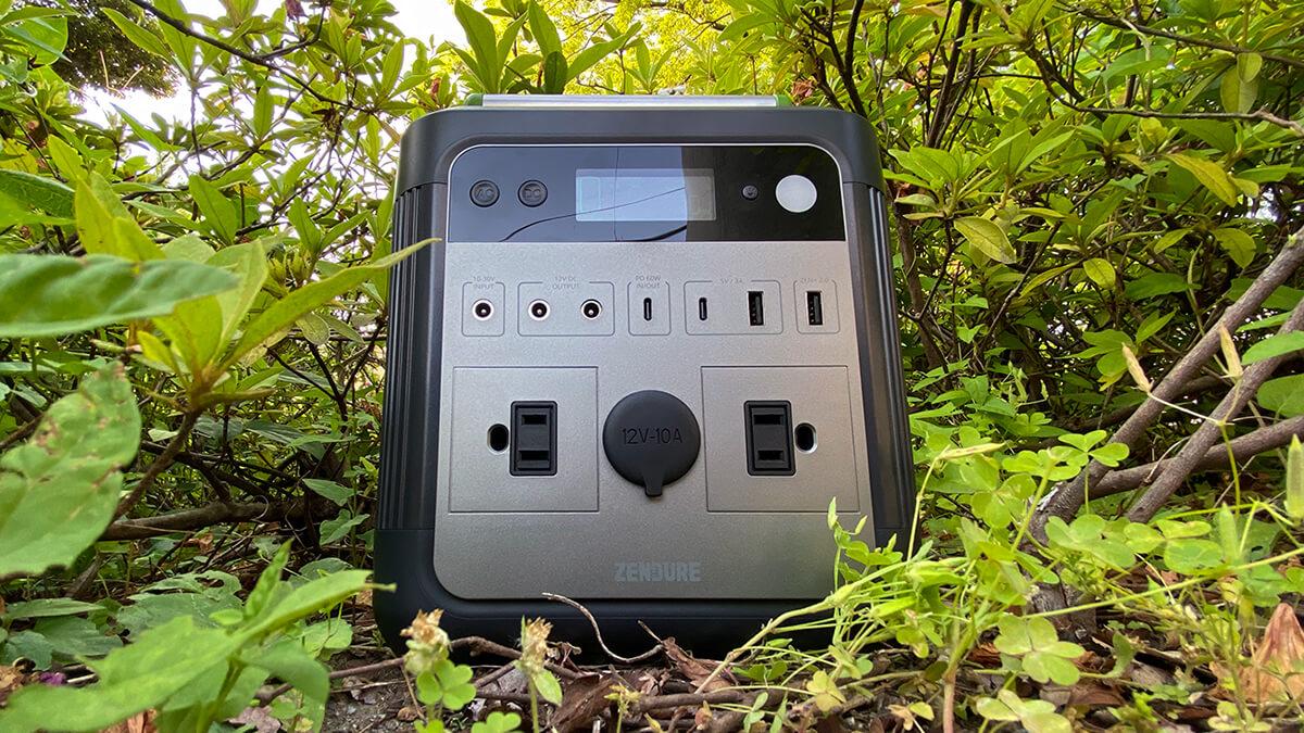 ZENDUREのSuperBase 500を実機レビュー!日帰りアウトドアやデイキャンプに適した大容量ポータブル電源