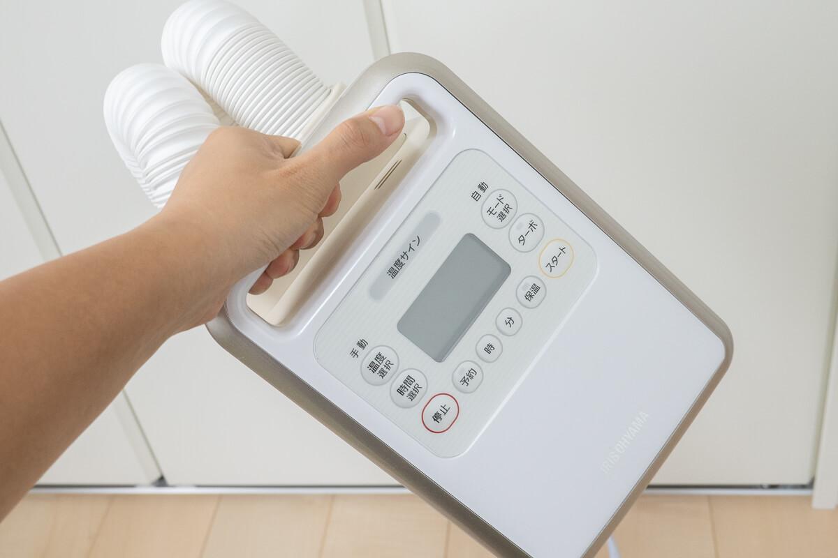 アイリスオーヤマ布団乾燥機「カラリエ」使用レビュー!機種ごとの違いも比較