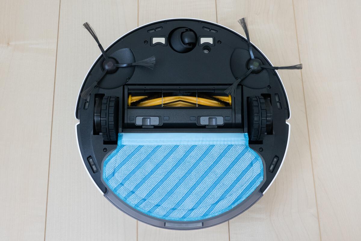 エコバックス「DEEBOT N7」の特長 自動給水による吸引+水拭きの同時清掃