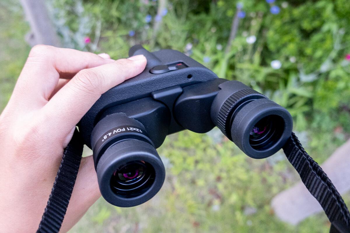 防水&軽量の12倍防振双眼鏡「シリウス12」使用レビュー!野外使用におすすめのタフな防振双眼鏡