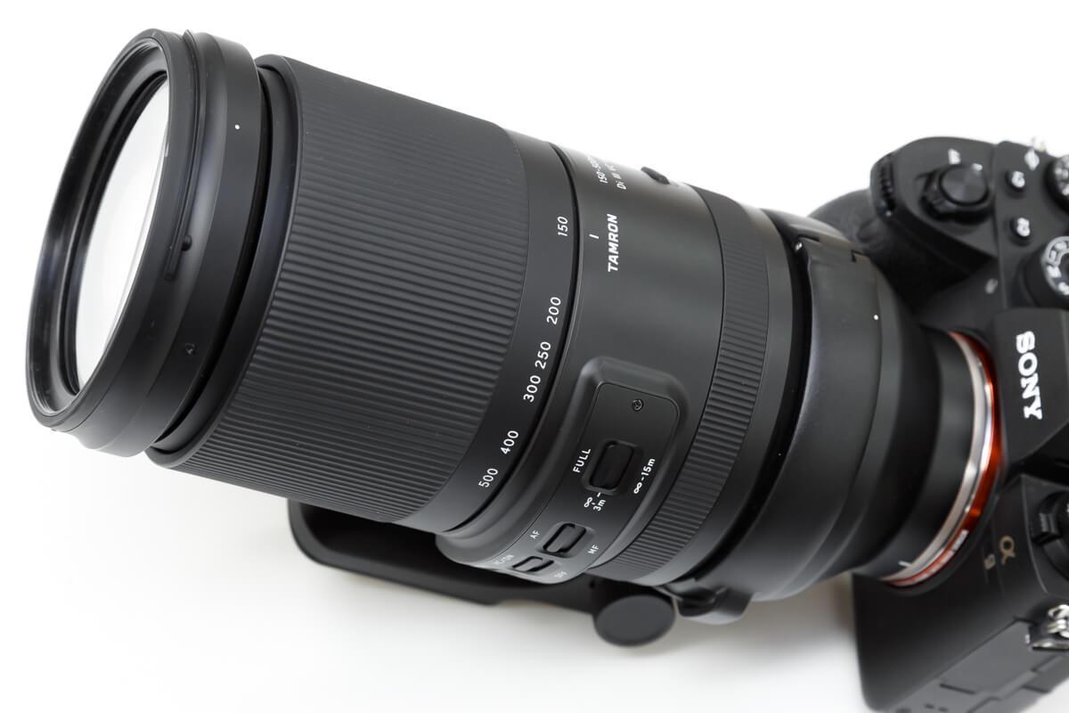 TAMRON 150-500mm F/5-6.7 Di III VC VXD デザイン性