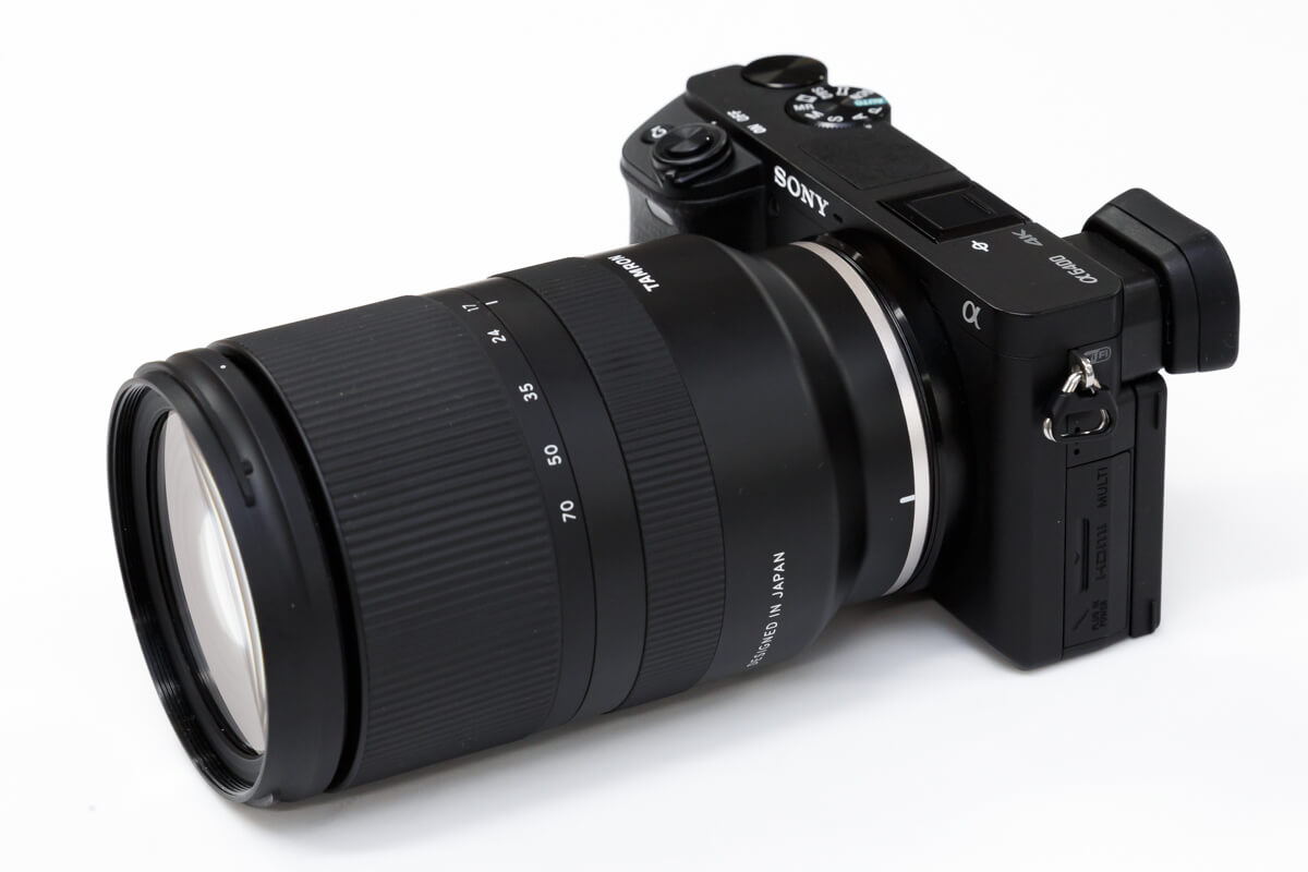 TAMRON 17-70mm F/2.8 Di III-A VC RXD 大きさ