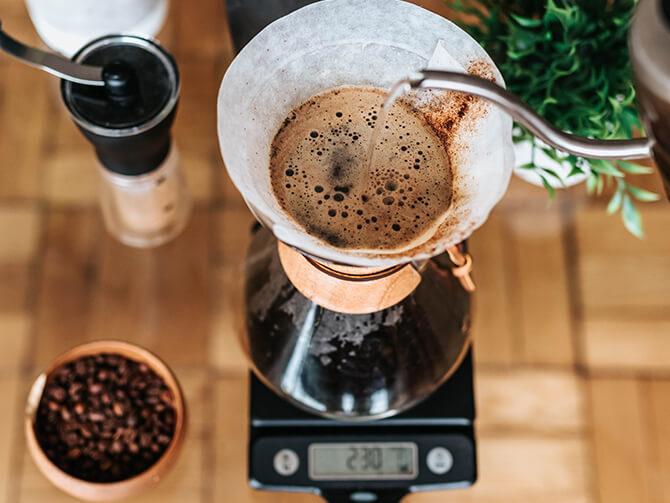 コーヒー手挽きミル