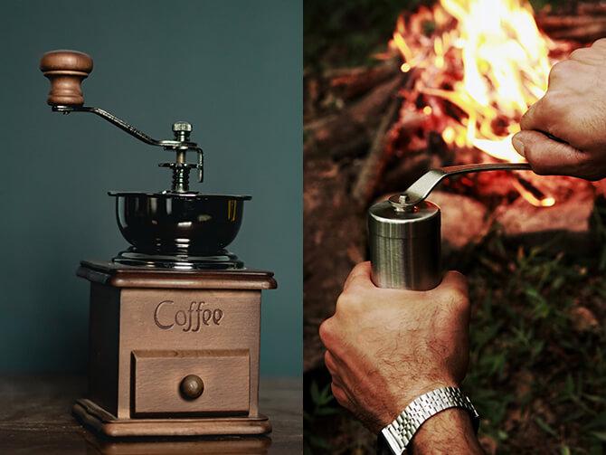 コーヒー手挽きミルの種類