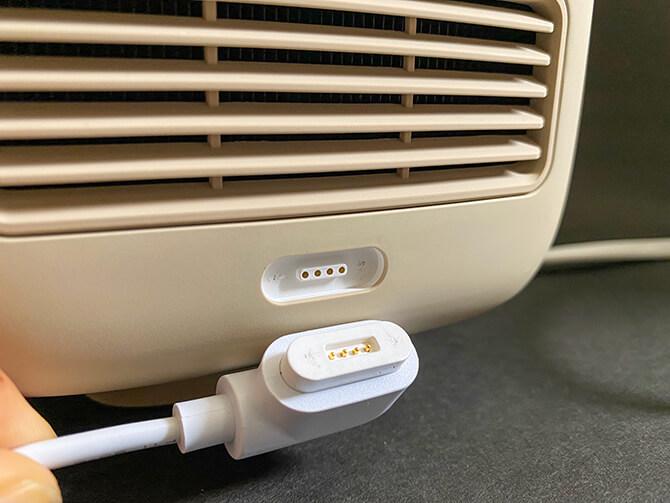 BenQ GS2の充電ケーブル