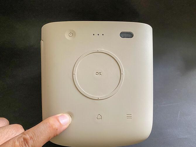 BenQ GS2の操作ボタン
