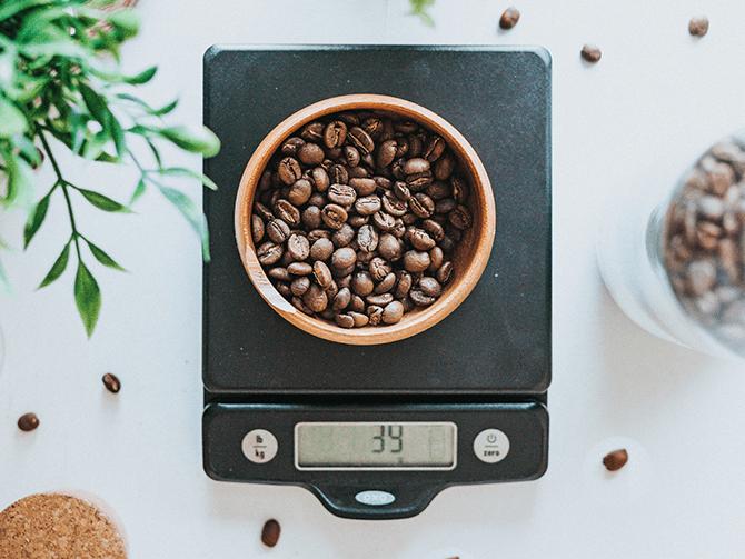 コーヒースケールの予算