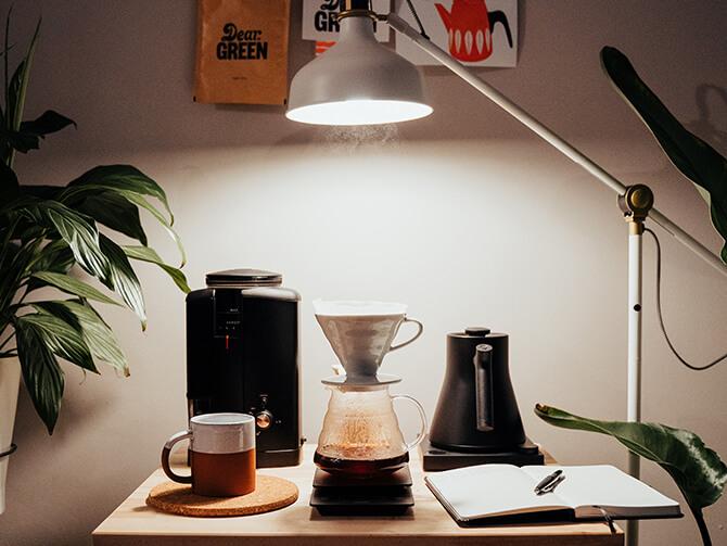 コーヒースケールのデザイン