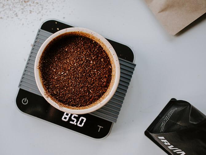 コーヒースケールの機能性