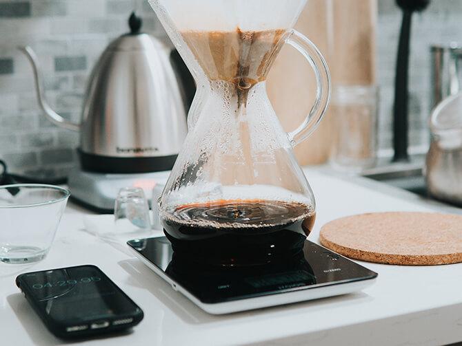 コーヒースケールの汎用性
