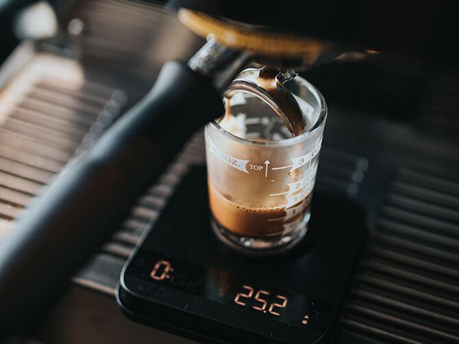 コーヒースケールの防水性能