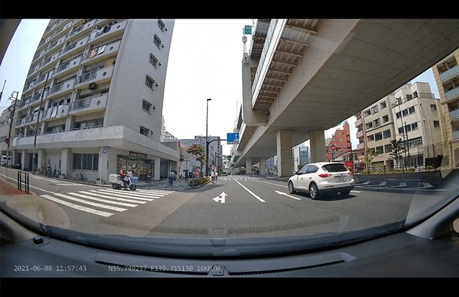 JAPAN AVE. 4KドライブレコーダーGT65の4K高精細
