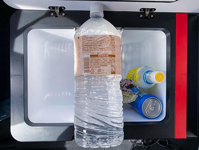 JAPAN AVE.の車載冷蔵庫JA2800の容量の注意点