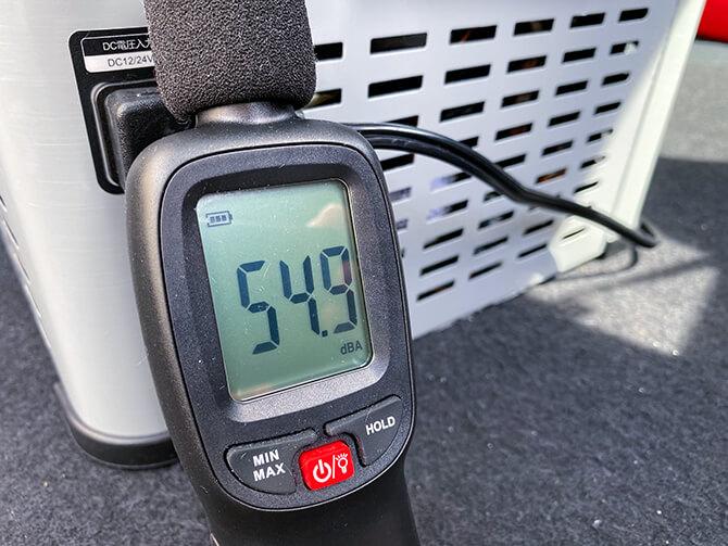 JAPAN AVE.の車載冷蔵庫JA2800の静音設計