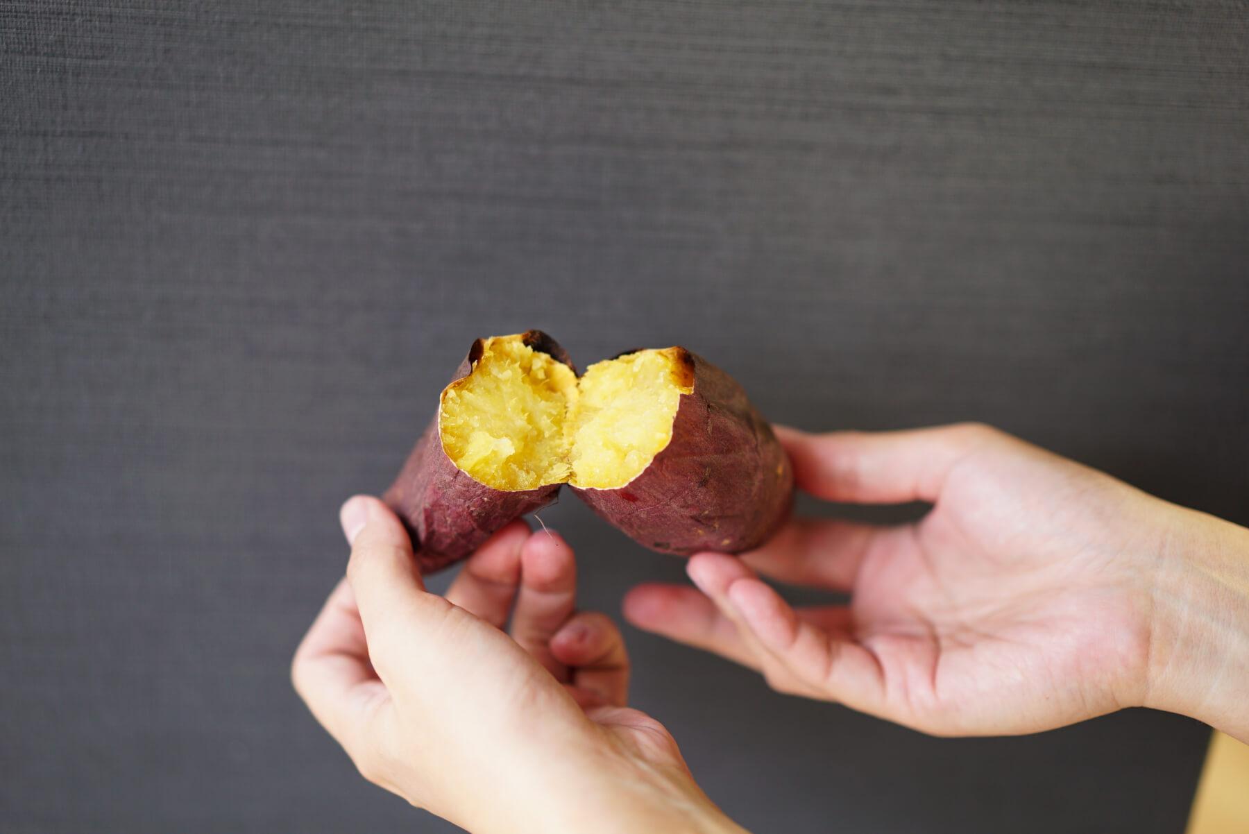 実食!完成した焼き芋を食べ比べ バルミューダ The Toasterで焼いた紅はるか