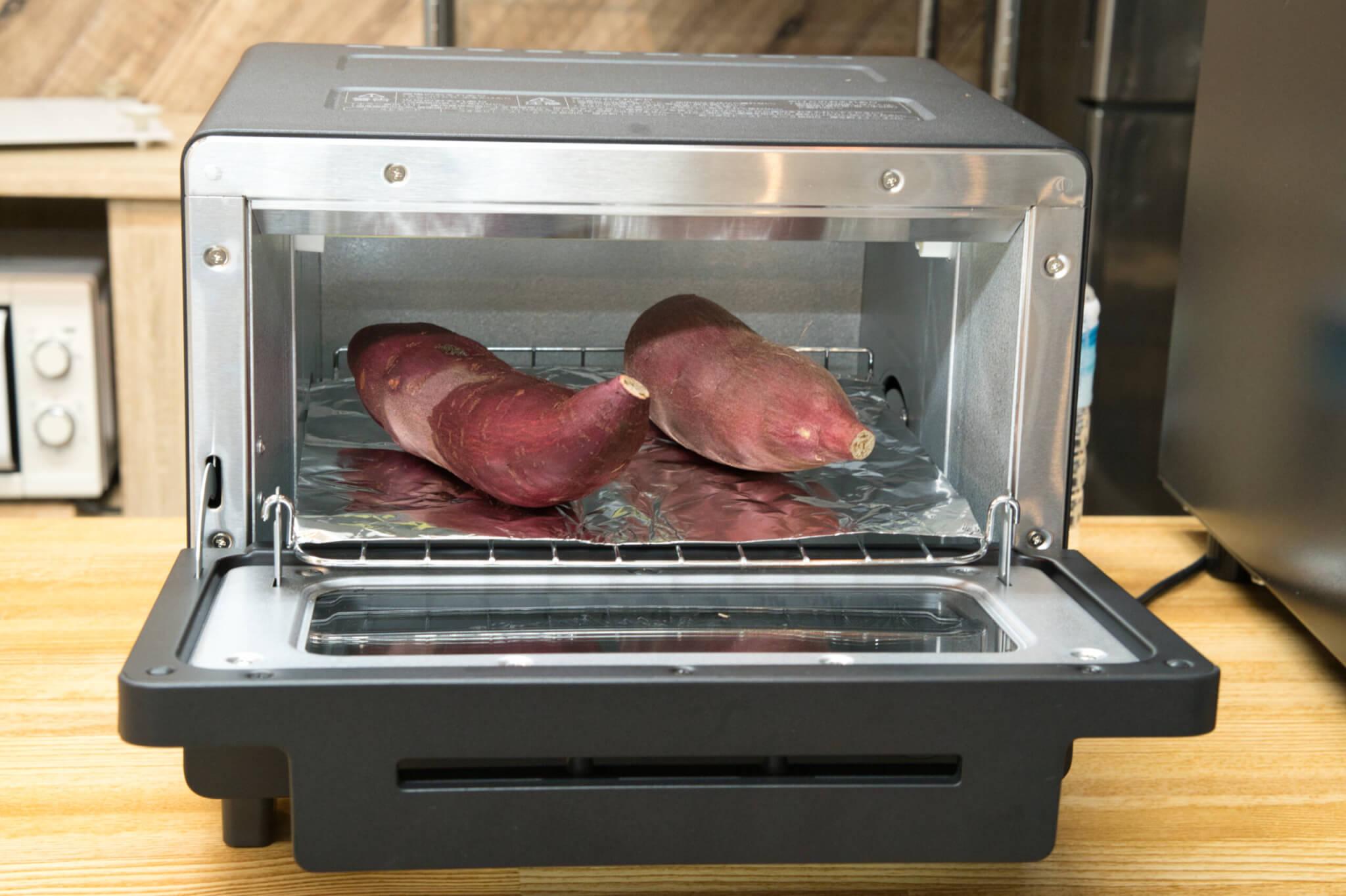 5種類の人気オーブントースターで焼き芋作り検証 パナソニック オーブントースター ビストロ