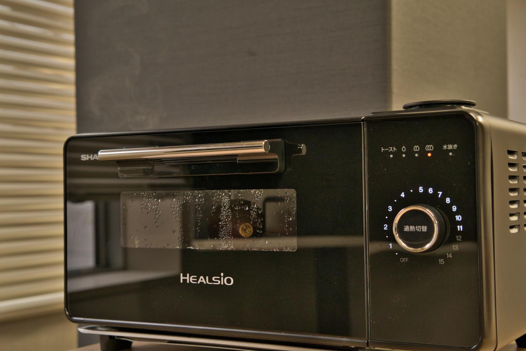 5種類の人気オーブントースターで焼き芋作り検証 調理中の様子